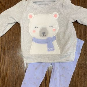🍼 Carter's Wintertime Outfit 3M